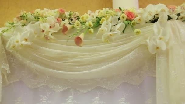 Svatební hostina vnitřní.