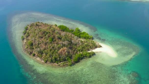 Tropical islands and blue sea. Philippines, Zamboanga.