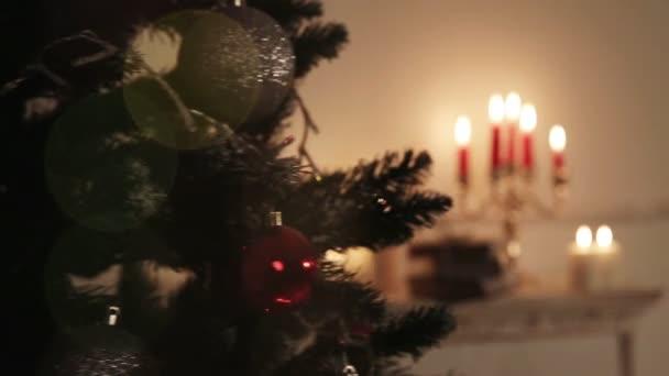Místnosti vánoční výzdoba.
