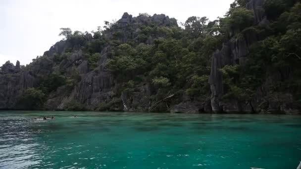 Nádherné laguny v Palawan, Filipíny