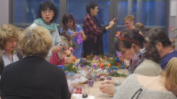 Families kids are making paper flowers family master class opole families kids are making paper flowers family master class opole poland preparation to the celebration colored mightylinksfo