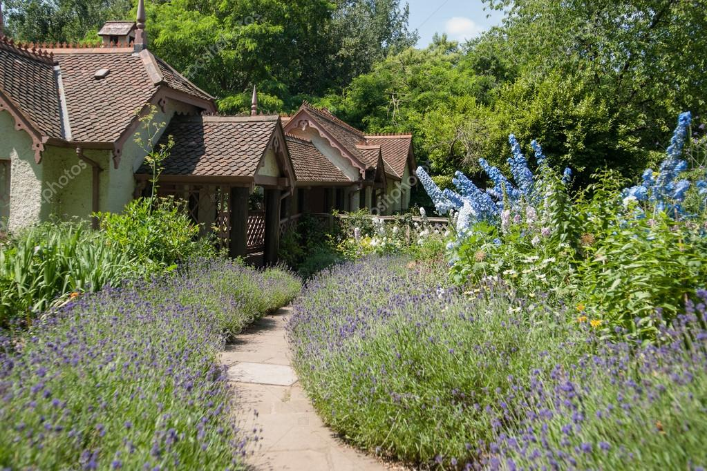 Traditional English Country Cottage.