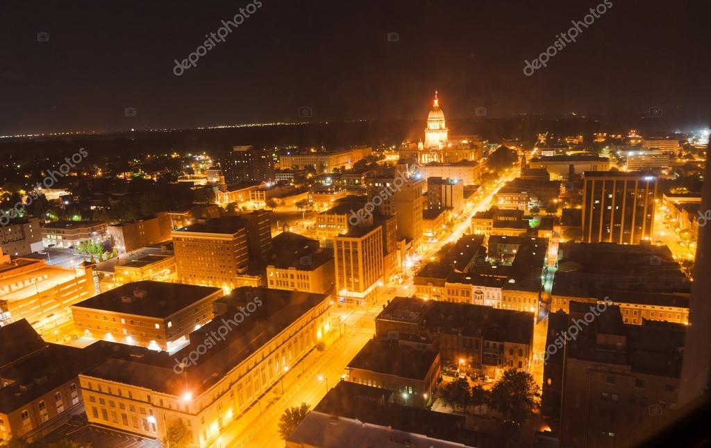 Nuit Illino Chercher À State Capital BuildingSpringfield Lampe De JT1clFK