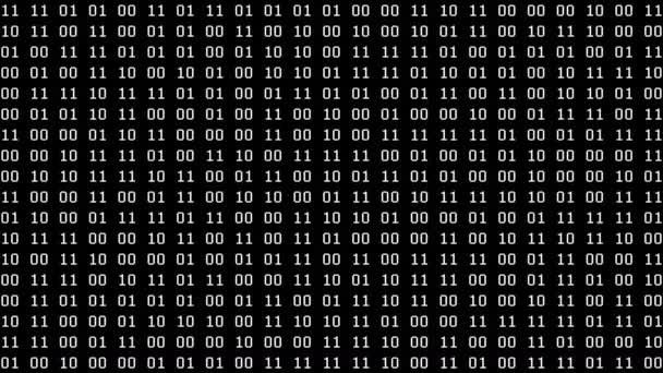 Binary Pairs Screensaver (24fps)
