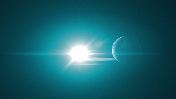 Temná strana země z vesmíru