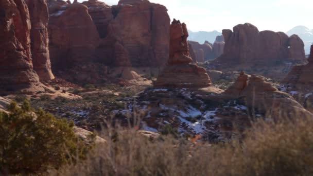 přírodní kamenné památky v národním parku Arches