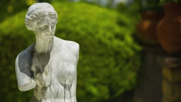 Venus do Milo statue in garden