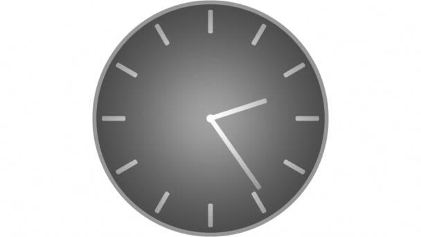 hodiny odpočítávání do 12 hodin