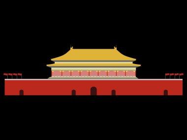 Forbidden City. Gate of Heavenly Peace. Tiananmen Square. Beijin