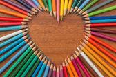Fotografie Crayon heart