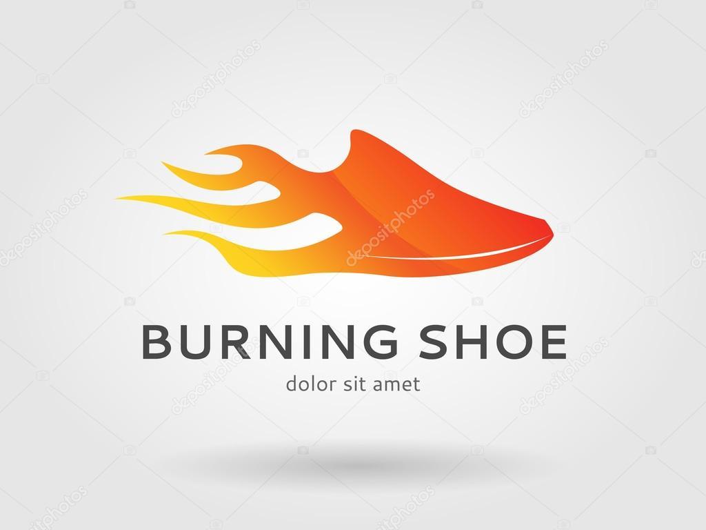 Course De Image Gravure Logo Icône — La Chaussure wmnyvN0O8