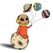 Astronautů na měsíci