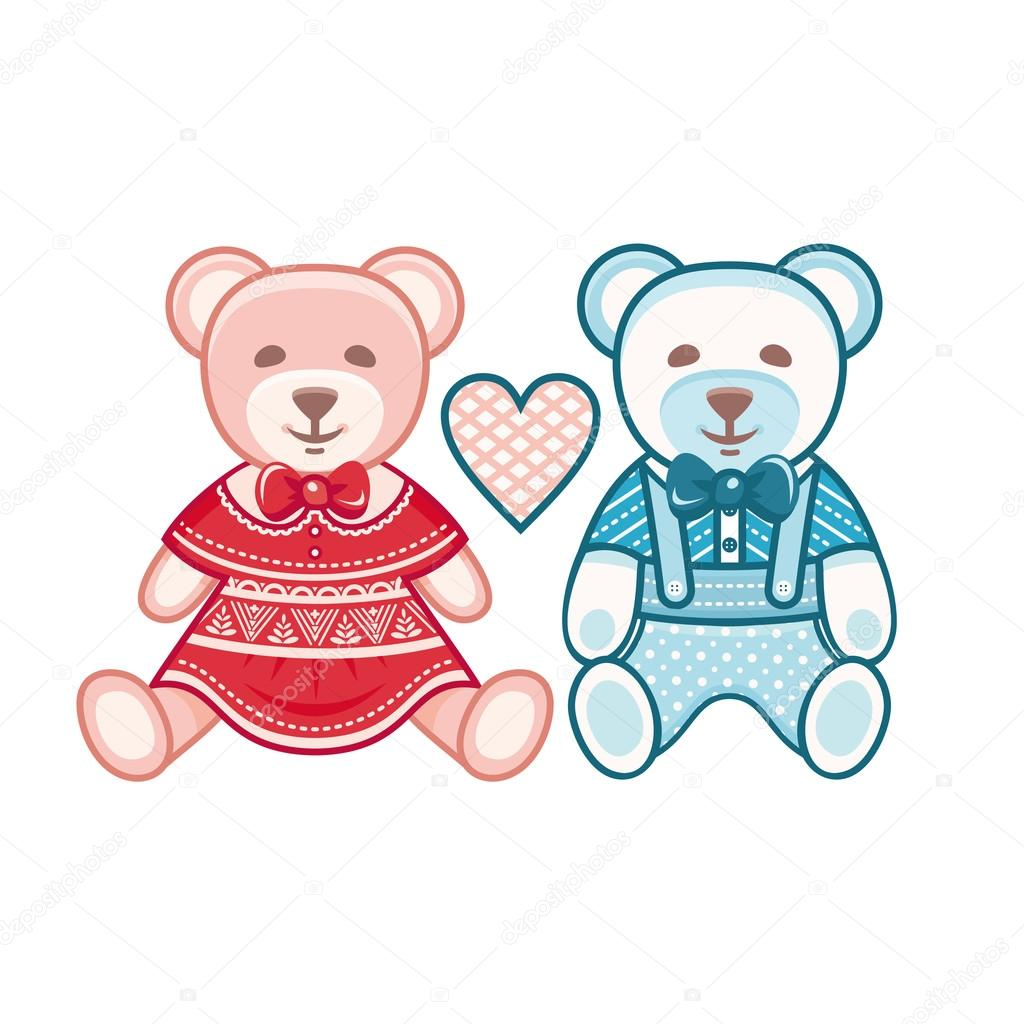Cute Bear Best For Creating Greeting Cards Invitation Stock