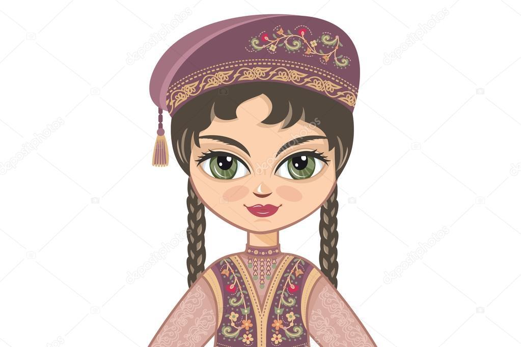 Татарские картинки с надписями с детьми, открытка