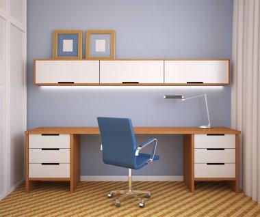 Modern office interior.