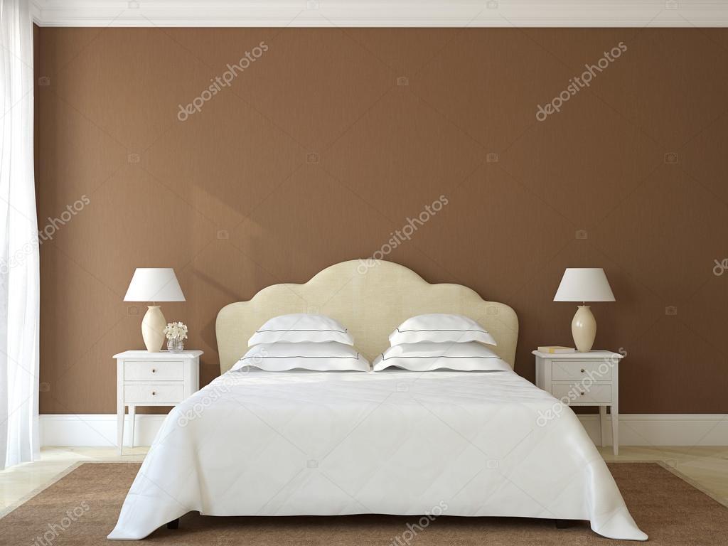 Interno camera da letto. Provenza. — Foto Stock ...