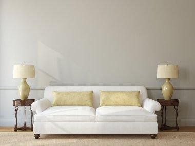 Classic living-room interior
