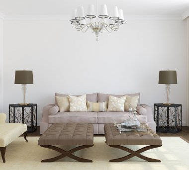 Modern living-room interior