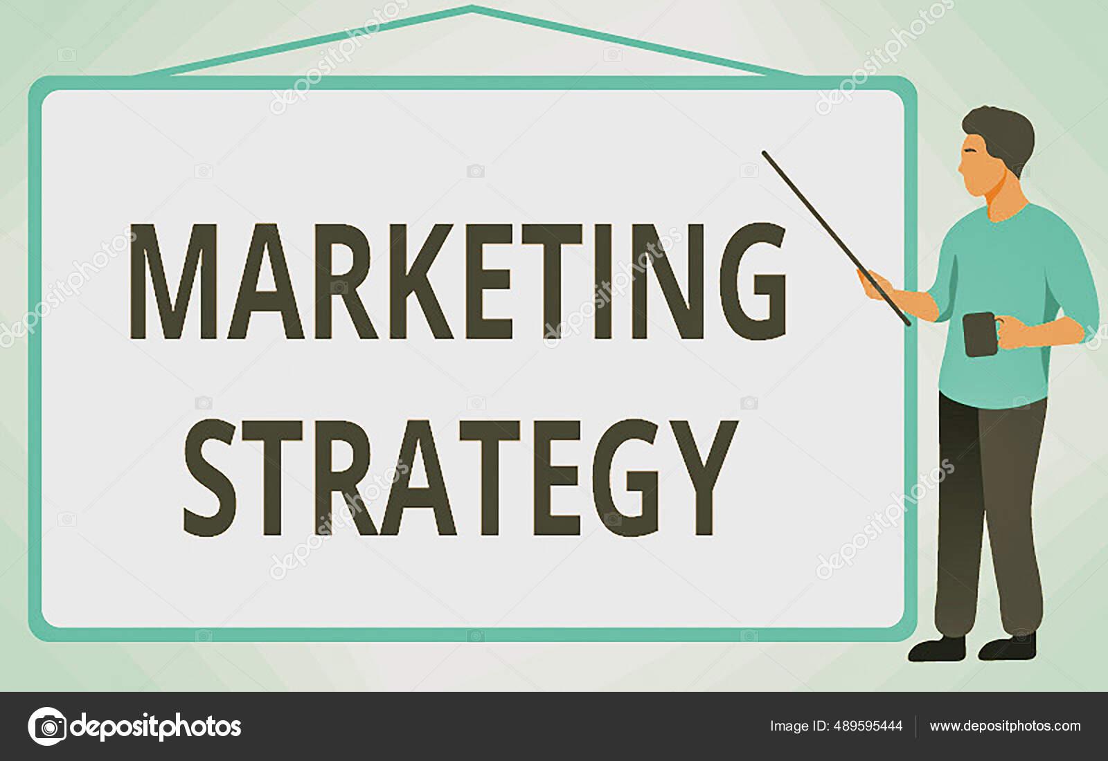 Visualización conceptual Estrategia de Marketing. Plan de ...