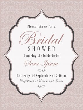 bridal shower card 3