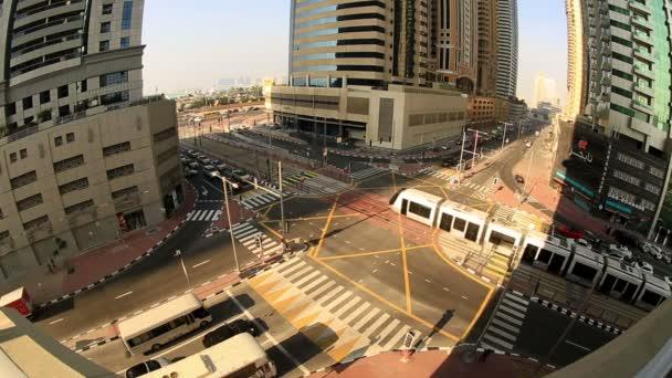 tramvaje v provozu Dubaj