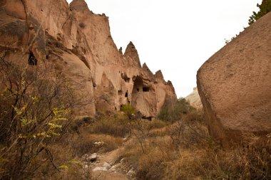 Famous city  Cappadocia in Turkey
