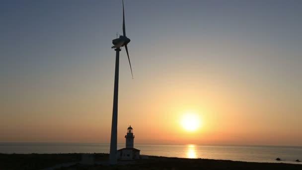 turbine di vento, generando energia pulita con il faro