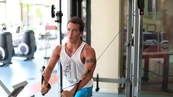 cvičení v tělocvičně série 13