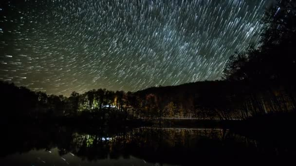 hvězda, zkušební přesunutím noční oblohu