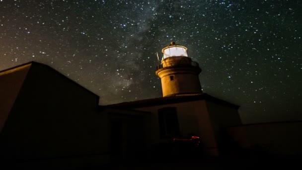 Mléčná dráha přes noční oblohu