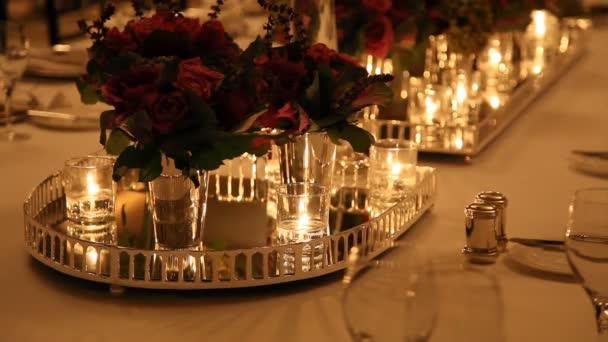 elegante Tischdekoration hd 1080p