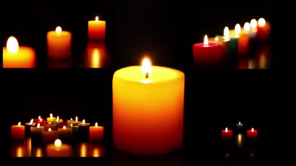 montage candles 2 HD 1080p