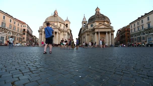 náměstí Piazza del popolo