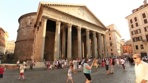 Time Lapse Pantheon di Roma