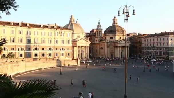 Čas zániku Piazza del Popolo