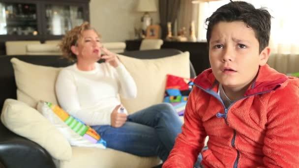 kouření máma video