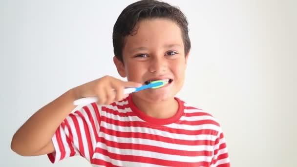 Cute kid missing teeth