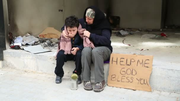 Homeless sick child