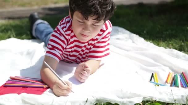 çocuk Parkı Boyama Stok Video Derinmedia 73235575