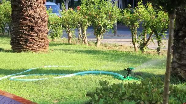 Grass postřikovačů, zalévání