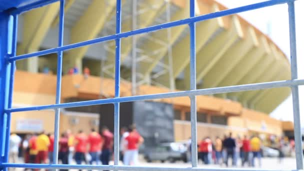 Fotbalový zápas vstupní fronty 4
