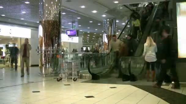 mozgólépcső shopping mall