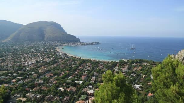 Mondello beach areal megtekintése