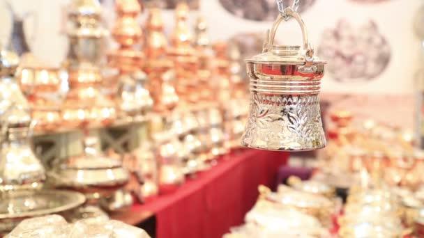Réz, ezüst konyha edények a nagy bazártól Isztambul 3
