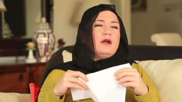 Kranke Muslimin niest.