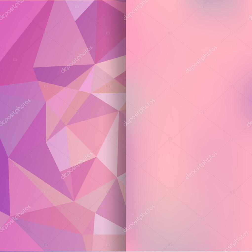 Sfondo Rosa Opaco Sfondo Astratto Rosa Composto Da Triangoli E