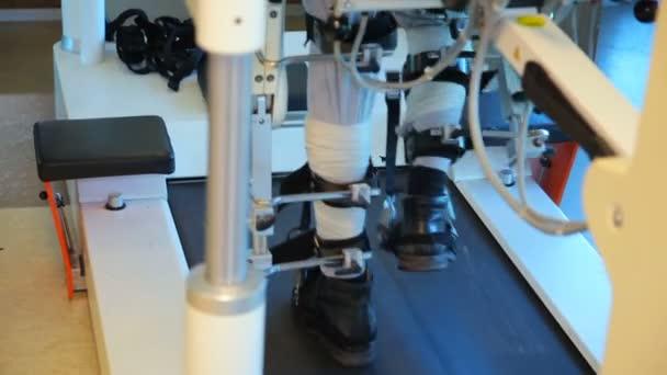 Lékařská chodící robot. Lokomat - chodící robot
