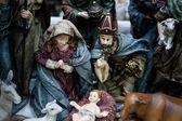 Christmas figurine nativity scene