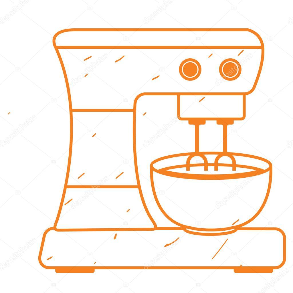 Mezclador mezclador de cocina con recipiente procesador for Recipiente para utensilios de cocina