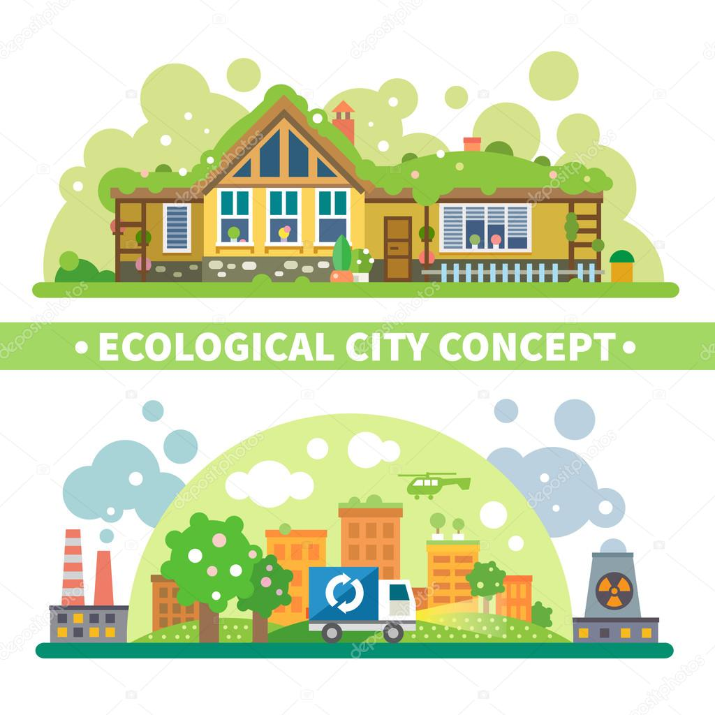 Ecological city concept